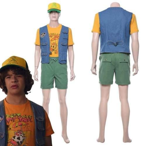 Stranger Things Season 3 Dustin Henderson Outfit Cosplay Costume