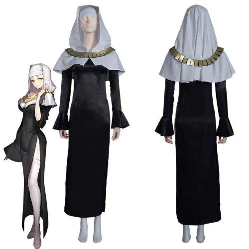 Fate/Grand Order Fgo Sessyoin Kiara Nun Robes Dress Outfits Halloween Carnival Suit Cosplay Costume