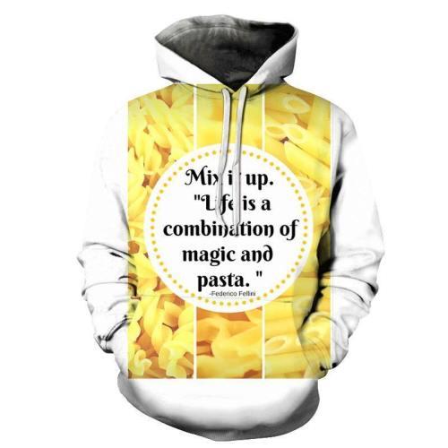 Mix It Up Pasta 3D - Sweatshirt, Hoodie, Pullover