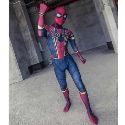 Avengers Infinity War Spider-Man Kids Jumpsuit Cosplay Costume