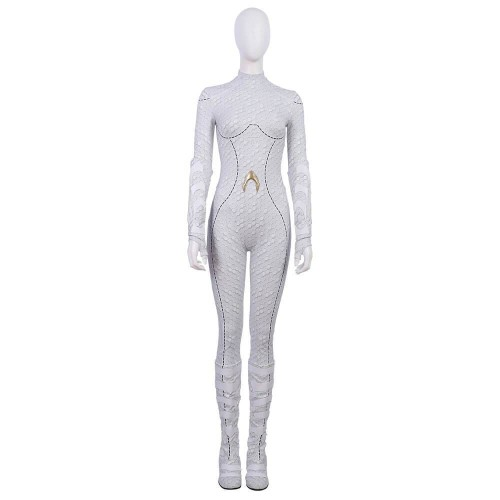 Aquaman Atlanna Costume Halloween Female Cosplay Suit