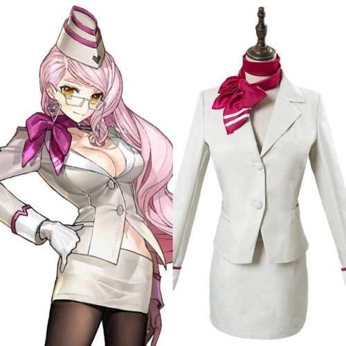 Game Fate/Grand Order Koyanskaya Tamamonomae Cosplay Costume