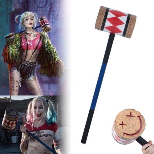 Birds Of Prey Harley Quinn Hammer Cosplay Weapon Model Costume Props