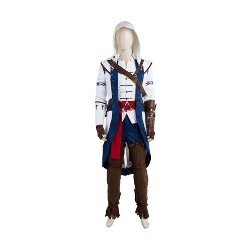 Assassins Creed Connor Cosplay Costume