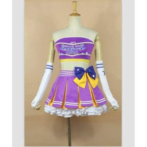 Love live Tojo Nozomi Cosplay Dress Costume Custom made