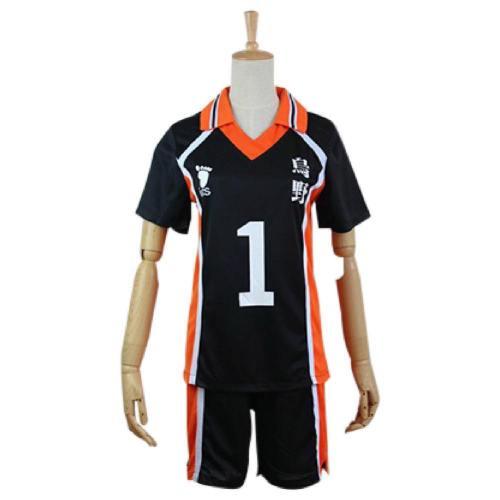 Haikyuu Cosplay Costume Karasuno Koukou High School Volleyball Club Sawamura Daichi Sportswear Shirt Jerseys