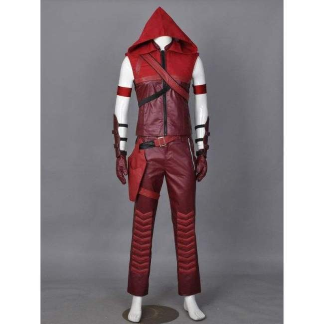America Tv Series Green Arrow Roy Harper (Red Arrow) Cosplay Costume