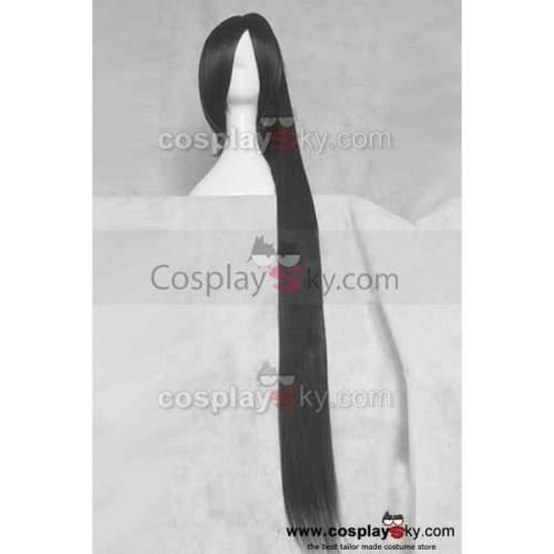 Soul Eater Nakatsukasa Tsubaki Black Cosplay Wig 120Cm