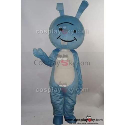 Baoya Rabbit Mascot Cosplay Costume Adult Size