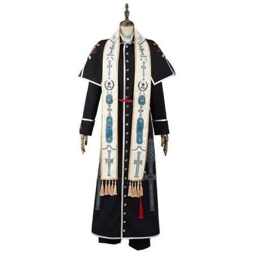 Vatican Miracle Examiner Hiraga Josef K? & Roberto Nicholas Outfit Cosplay Costume