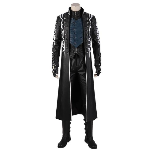 Devil May Cry 5 Vergil Cosplay Costume Adult Custom Made For Halloween