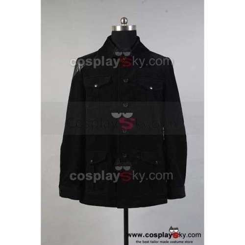 Sherlock Holmes Dr. John Watson Black Jacket Costume