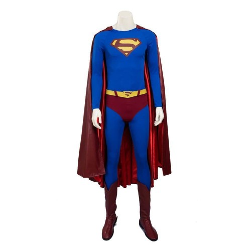 Superman Returns Superman Costume Halloween Cosplay Full Set Costume Outfit For Adults