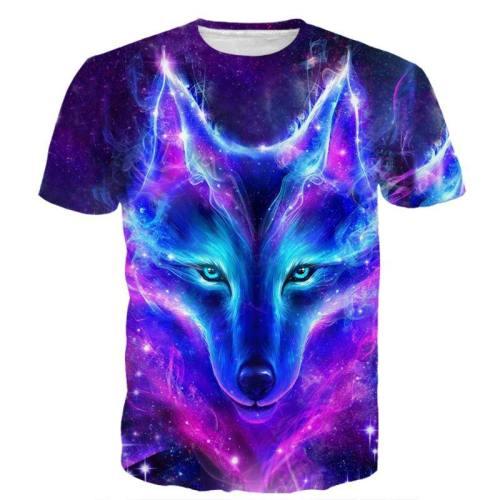 Galactic Wolf Shirt