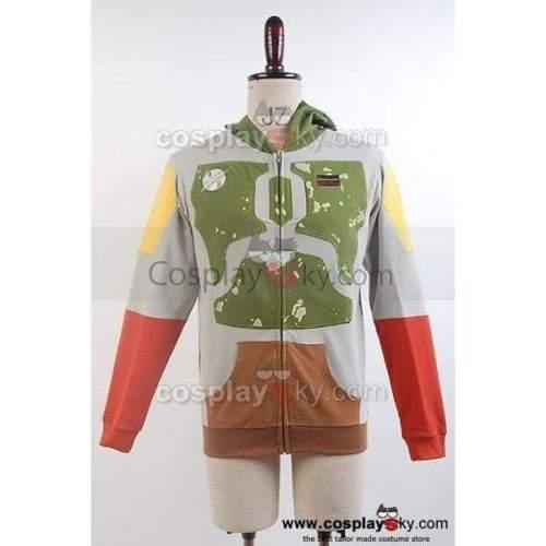 Star Wars Darker Boba Jacket Hoodie Costume
