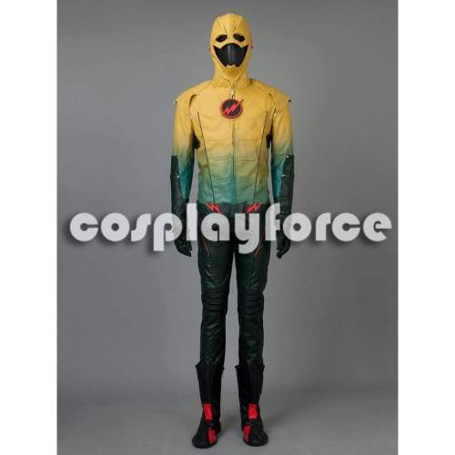 The Flash Dr.Harrison Wells Reverse-Flash Cosplay Costume Mp002569