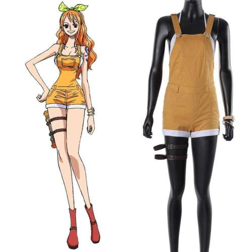 One Piece Stampede Nami Cosplay Costume
