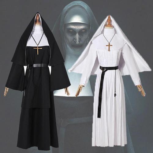 The Nun Costume For Women Halloween Cosplay