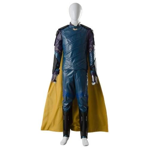 Thor 3 Ragnarok Loki Outfit Sakaar Suit Blue Ver. Cosplay Costume
