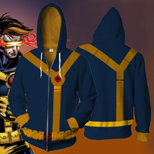 Marvel Comics Hoodie - X-Men Zip Up Hoodie Csos700