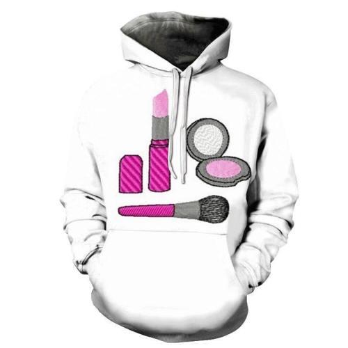 Makeup Girl Power 3D - Sweatshirt, Hoodie, Pullover