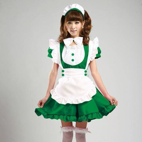 Maid Waitress Costumes - Ms009