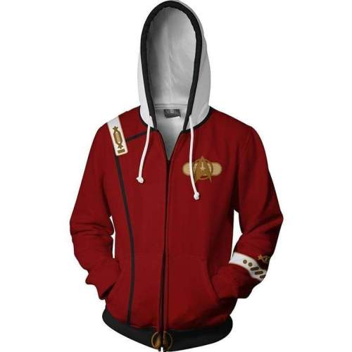 Star Trek Ii: The Wrath Of Khan Hoodie 3D Zip Up Sweatshirt Unisex