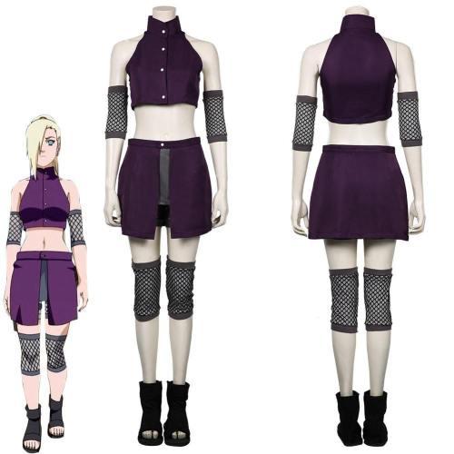 Naruto-Yamanaka Ino Women Skirt Outfits Halloween Carnival Suit Cosplay Costume