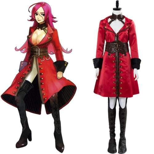 Fateextra Last Encore Francis Drake Cosplay Costume Original Version