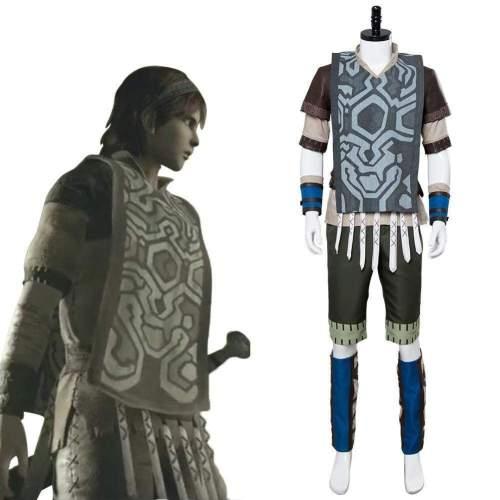 Video Game Shadow Of The Colossus Wander Outfit Cosplay Costume