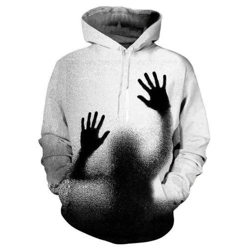 Mens Hoodies 3D Printed Hands Printing Hoodies