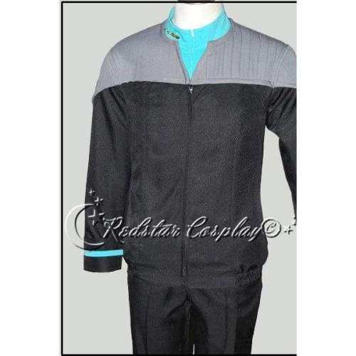 Star Trek Nemesis Medical Science Teal Uniform Cosplay Costume  - Custom made in any size