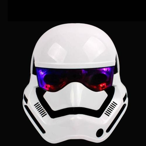 Star Wars Darth Vader Mask Empire Clone White Soldiers Luminous Mask Full Face Halloween And Christmas Mask