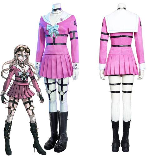 Danganronpa V3: Killing Harmony-Miu Iruma Women Dress Outfits Halloween Carnival Suit Cosplay Costume