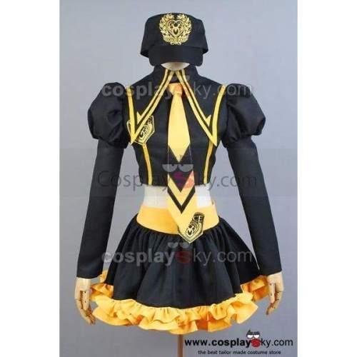 Vocaloid Luka Hatsune Miku Cosplay Costume Yellow Version