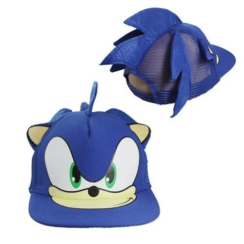 Cartoon Adjustable Sonic The Hedgehog Cap Hip Hop Hat Cosplay Props
