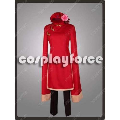 Hetalia:Axis Powers China Female Cosplay Costume Mp002888