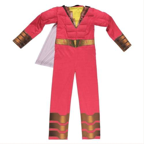 Shazam Billy Batson Cosplay Costume For Kids Boys Toddler