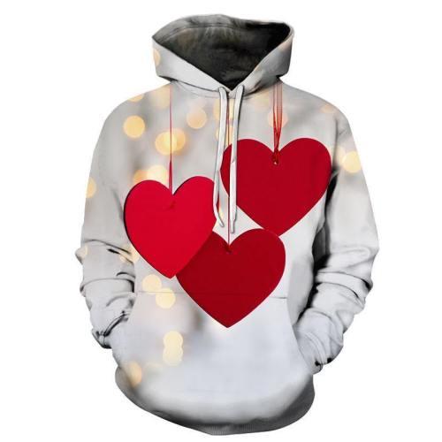 Valentine'S Day 3D - Sweatshirt, Hoodie, Pullover