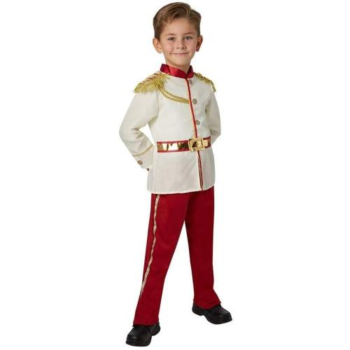 Boy Noble Royal Charming Prince Child Kids Carnival Party Halloween Cosplay Costumes