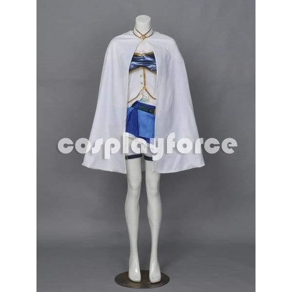 Puella Magi Madoka Magica Miki Sayaka Cosplay Costume