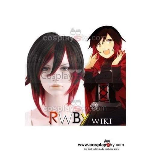 Rwby Red Trailer Ruby Cosplay Wig