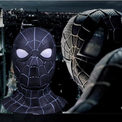 Black Spiderman Halloween Cosplay Mask