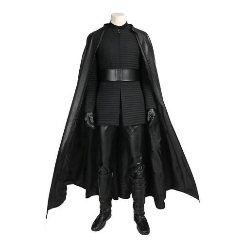 Star Wars Episode 8: The Last Jedi Kylo Ren Suit Cosplay Costume Halloween Party Full Set