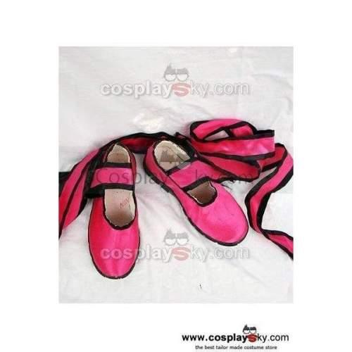 Tekken Tekken Ling Xiaoyu Cosplay Shoes Custom Made