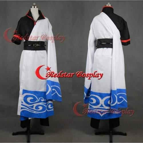 Silver Soul Gintama Sakata Gintoki Cosplay Costume Custom In Sizes