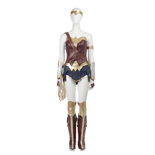 Wonder Woman Costume Diana Princess Halloween Party Hand Made Cosplay Costume