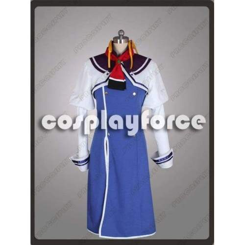 The Instructor Of Aerial Combat Wizard Candidates Julie Frostor Cosplay Costume Mp002396