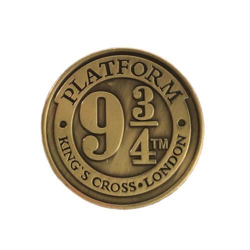 Hogwart Harry Potter 9 3/4 Metal Brooch Platform Badge Pins Cosplay