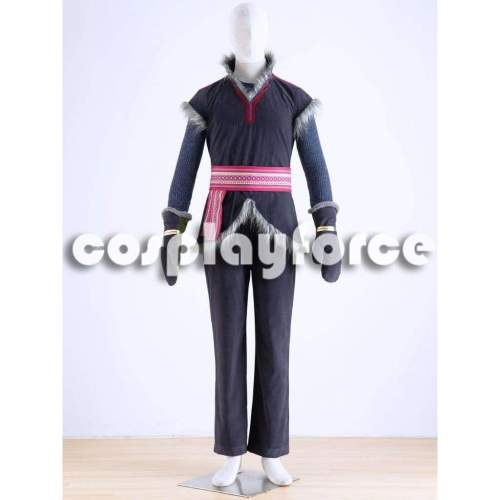Once Upon A Time Kristoff Cosplay Costume